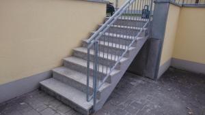 Sanierung von Stufenanlage 1