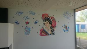 Wandmalerei Pizzeria Toskana Nussdorf am Attersee