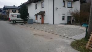 Pflasterung - Parkplatz